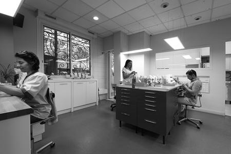 Équipe laboratoire Prothésistes